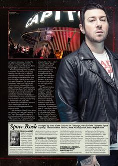 """Avenged Sevenfold for the """"end of the year"""" issue of Metal Hammer UK magazine, available now!"""