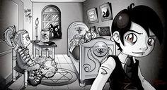 El Joven Lovecraft - Fan Art por SaG82