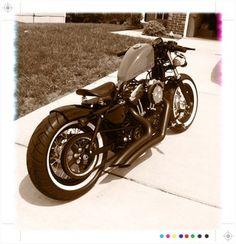 Yo Nadz' Custom Forty Eight build thread... - Harley Davidson Forums