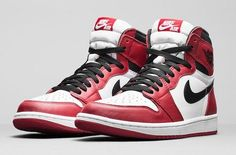 NIKE AIR JORDAN 1 RETRO HIGH OG VARSITY RED