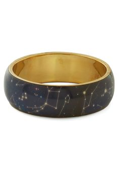 Undeniable Star Quality Bracelet. With this stellar bracelet on your wrist, the stars come out even in the morning before work and during an afternoon of errands! #blue #modcloth