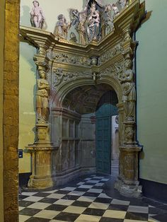 Sacristía de la Capilla del Salvador de Úbeda #turismo #Jaen