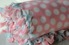 No sew blankets are nothing new I know, but I still love the idea and ease of making them!