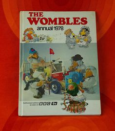 Vintage 1978 Wombles annual children's book by ElsieandMartha, Bbc Tv, Fiction And Nonfiction, World Peace, Vintage Books, Back In The Day, Peace And Love, Childhood Memories, Childrens Books, 1970s