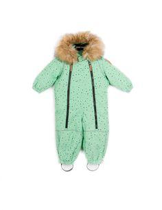 ALASKA BABY OVERALL GREEN