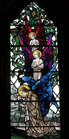 Stained Glass Window - Penn Church, Bucks by Ascendingkitty, via Flickr