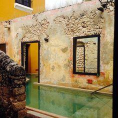 Hacienda Ruins repurposed as Swimming Pools