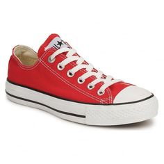 🆕 Converse Classic Red All Star Low Tops Converse Classic, Red Low Top Converse, Converse All Star Ox, Converse Chuck Taylor All Star, Converse Shoes, Ladies Converse, Ladies Shoes, Chuck Taylors, Zapatillas All Star
