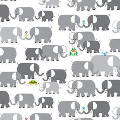 cute cute cute! Ed Emberley - Happy Drawing - Elephants in Gray