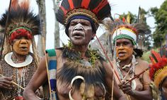 Papua New Guinea: a trek to the village time forgot