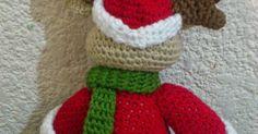 PATRÓN DE RENO DE NAVIDAD AMIGURUMI Rena, Crochet Projects, Hello Kitty, Blog, Christmas, Andorra, Crochet Animal Amigurumi, Craft, Crochet Dolls