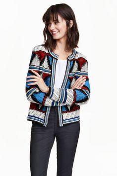 H&M - Jacquard-knit cardigan £49.99
