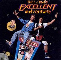 De Volta Aos Anos 80 e 90 : Bill & Ted's Excellent Adventure Original Soundtra...
