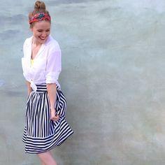 High Seas Skirt #Anthropologie #MyAnthroPhoto