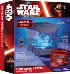 Amazon.com: Uncle Milton Lightsaber Crystal Growing Lab Science Kit: Toys & Games