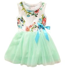 3a7dac98954 Theplus Little Girls Sleeveless Floral Princess Dress Tulle Tutu Sundress  Imported Season  summer