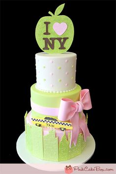 NYC Themed Baby Shower Cake
