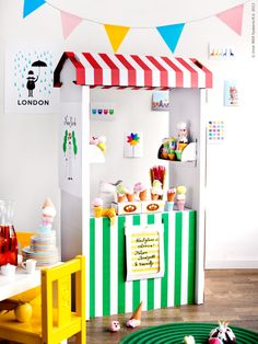 Oh! Mini ice cream stand. Darn this adulthood thing. Can I regress?    SKYLTA | IKEA