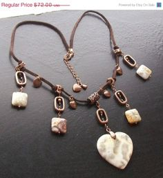 MARCH MADNESS SALE Crazy lace agate heart gemstone by HrtsofStone, $46.80
