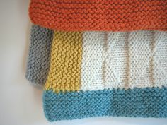 Ravelry: Tremblant Baby Blanket pattern by The Knit Cafe Toronto