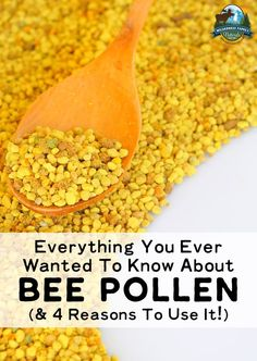 Health Articles Everything You Ever Wanted To Know About Bee Pollen (& 4 Reasons To Use It) Matcha Benefits, Health Benefits, Honey Benefits, Herbal Remedies, Natural Remedies, Flu Remedies, Health And Wellness, Health Tips, Health Articles