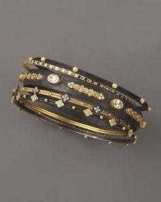 Armenta oxidized bangles... Early B-day?!?