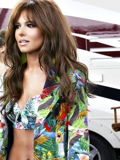 Cheryl Cole. Hair. All the way. Favorite bang length/style.