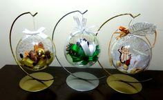Bombki przeźroczyste, własnoręcznie zrobione! To idealna dekoracja na stół świąteczny! #zróbtosam #diy #home #decor #dekoracje #christmas #święta