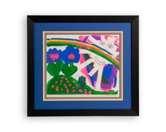 Children's Art - Deck The Walls #customframing #art #kids #artwork