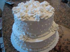 Wedding cake for my friend renew vows