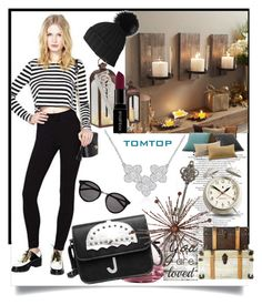 """""""Tomtop 16"""" by suncokret-12 ❤ liked on Polyvore featuring Royal Albert, Pier 1 Imports, Yves Saint Laurent, Smashbox, Newgate, vintage, women's clothing, women, female and woman"""
