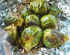 Grilled Brussels Sprouts: Grilling turns doubters into believers with these amazingly awesome Brussels sprouts. #brusselssprouts #vegan #recipes