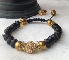 Black and gold bracelet £7.99