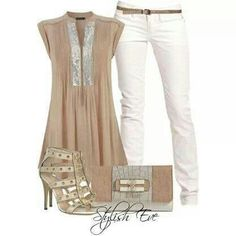 Dressy evening summer outfit