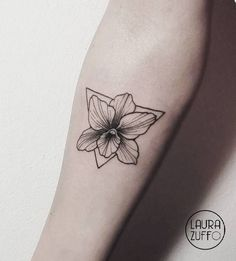 Orchid Tattoo by laurazuffottt