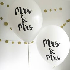 Are you interested in our mrs and mrs balloons? With our mrs and mrs wedding you need look no further.