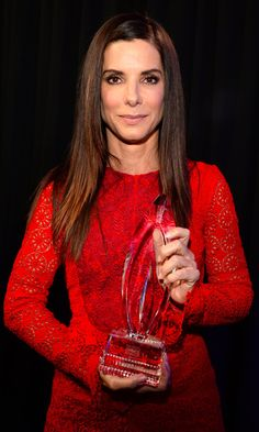 Pin for Later: Sandra Bullock Got Some Hilarious Acceptance Speech Pointers From Her 5-Year-Old Son, Louis