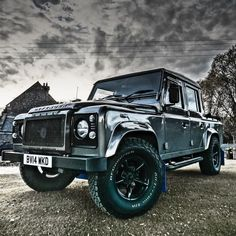 Land Rover Defender Stainless Steel Front Grill