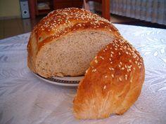 Французский хлеб из ржаной и пшеничной муки