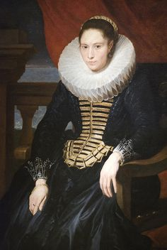 Portrait of a Lady, ca. 1620 by Maulleigh, via Flickr