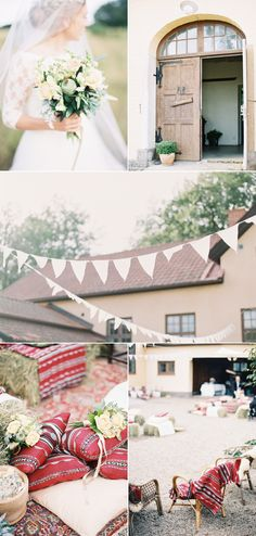 Romantic Cultural Infused Swedish Wedding – Style Me Pretty