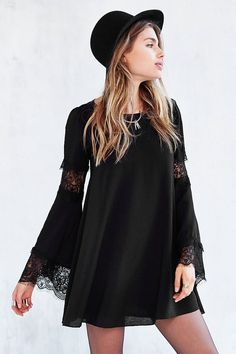 For Love & Lemons Ribbed Festival Dress - Urban Outfitters