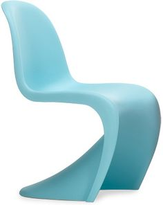 2007 limited edition light blue panton chair - hive exclusive. Made in Germany by Vitra based on Design Verner Panton, 1960. Via Hive
