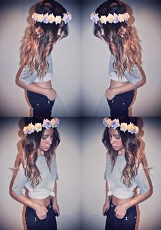 her hair is beautiful!