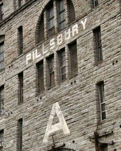 Pillsbury A Mill -- going back to when Minneapolis was Mill City