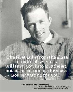"Werner Heisenberg (Christian) 1932-Nobel Prize in Physics ""for the creation of quantum mechanics""."