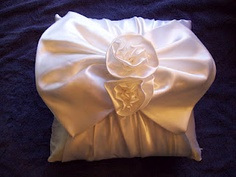 Repurposed wedding dress.  make a pillow out of it.   / pillow, www.sewingbymaudy.com