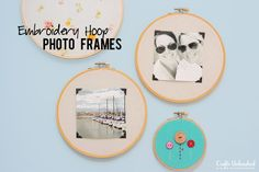 Embroidery Hoop Frames DIY - Crafts Unleashed