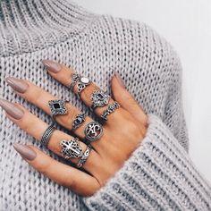 Anéis pequenos