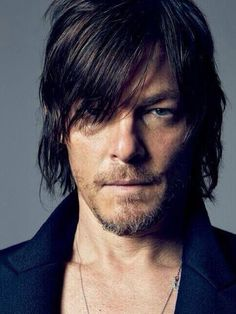 GQ shoot - Daryl Dixon from The Walking Dead